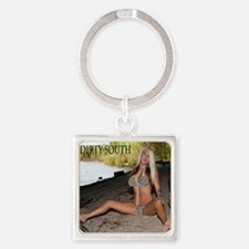 DIRTY SOUTH JS Square Keychain