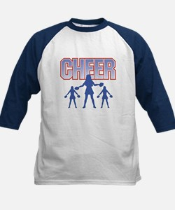 Cheerleaders Red White and Blue Cheer Tee