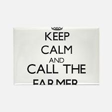 Keep calm and call the Farmer Magnets