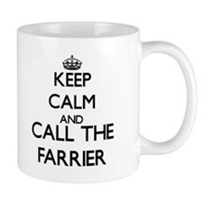 Keep calm and call the Farrier Mugs