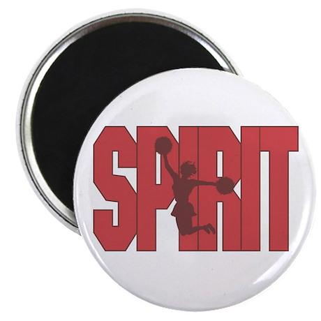 Cheerleader Red Spirit Magnet