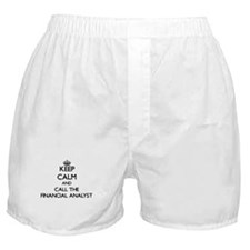 Funny Chartered financial analyst Boxer Shorts