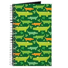 Crocodile Alligator Jungle Journal