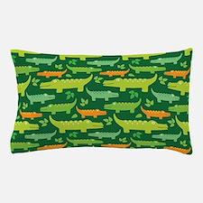 Crocodile Alligator Jungle Pillow Case