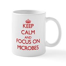 Keep Calm and focus on Microbes Mugs