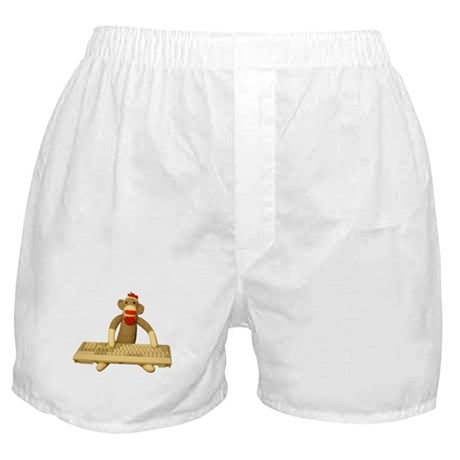 Code Sock Monkey Boxer Shorts