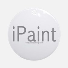 iPaint Ornament (Round)