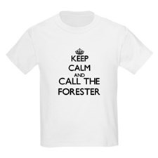Keep calm and call the Forester T-Shirt