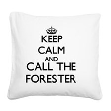 Cute Forestry degrees Square Canvas Pillow