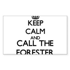 Keep calm and call the Forester Decal