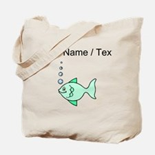 Custom Cartoon Fish Tote Bag