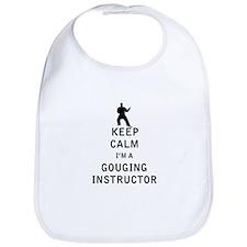 Keep Calm I'm a Gouging Instructor Bib