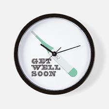Get Well Soon Wall Clock