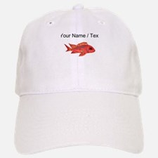 Custom Red Snapper Fish Baseball Baseball Baseball Cap