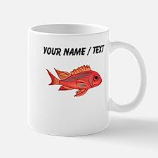 Custom Red Snapper Fish Mugs