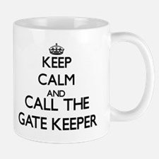 Keep calm and call the Gate Keeper Mugs