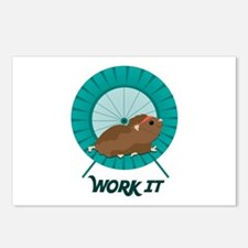 Work It Postcards (Package of 8)