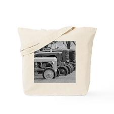 Old Farm Tractors Tote Bag