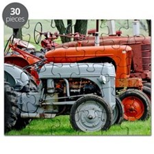 Old Farm Tractor Puzzle