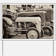 Old Farm Tractor Yard Sign