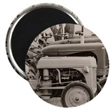 Old Farm Tractor Magnet