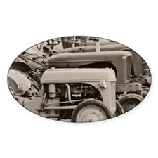 Old Farm Tractor Decal