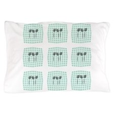 Custom Mint Green 3d Picture Gallery Pillow Case