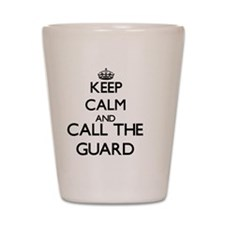 Funny Security guard jobs Shot Glass