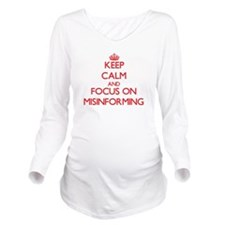 Unique Foc Long Sleeve Maternity T-Shirt