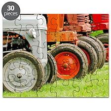 Old Farm Tractors  Puzzle