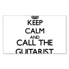 Keep calm and call the Guitarist Decal