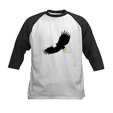 Bald Eagle Flying Baseball Jersey