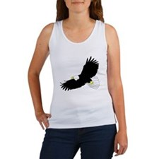 Bald Eagle Flying Tank Top