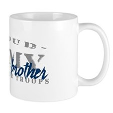 Proud Army Brother (blue) Mug