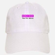 Hot Pink Bride Personalized Baseball Baseball Baseball Cap