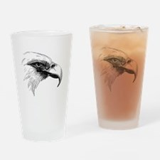 Eagle Face Drinking Glass