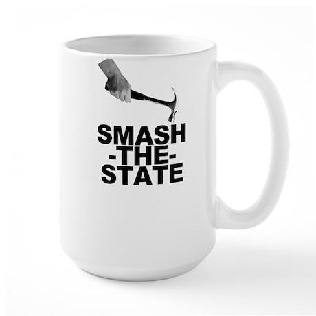 Smash the State Large Mug