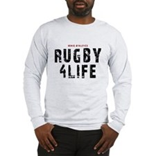 Rugby 4Life Sports Quote Long Sleeve T-Shirt