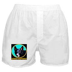 German Shepherd Blue Emblem Boxer Shorts