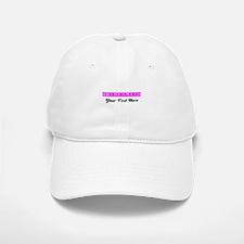 Pink Personalized Bridesmaid Baseball Baseball Cap