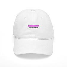 Pink Personalized Bridesmaid Cap