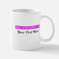 Pink Personalized Bridesmaid Mug