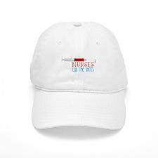 Nurses Call The Shots Baseball Baseball Cap