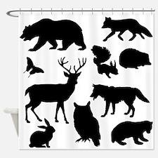 Forest Animals Shower Curtain