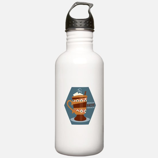 Mexican Hot Chocolate Water Bottle