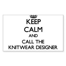Keep calm and call the Knitwear Designer Decal