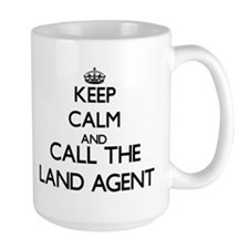 Keep calm and call the Land Agent Mugs