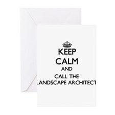 Keep calm and call the Landscape Architect Greetin