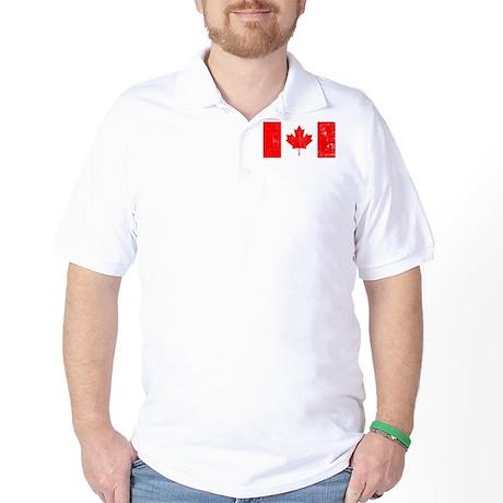 Vintage Canada Flag Golf Shirt
