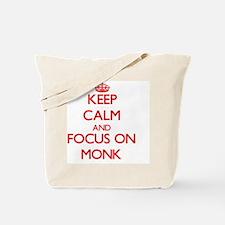 Unique I heart monks Tote Bag